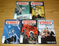 Astronauts In Trouble: Live From The Moon #1-5 VF/NM complete series gun dog set