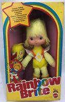 IRIDELLA doll RAINBOW BRITE CANARY YELLOW SPARK SPRITE Poupée Mattel 1983 NEW