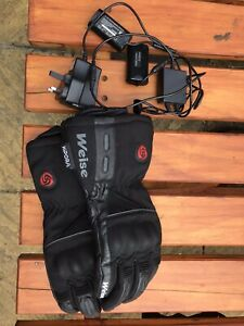 Weiss Plug In Heated Motorcycle Gloves