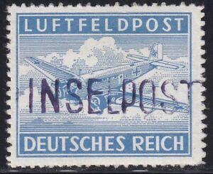 Feldpost Insel Leros 1945 Nr. 11 B postfrisch geprüft BPP