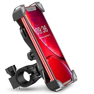Babacom Bike Phone Holder, 360� Rotation Bike Phone Mount Anti-Shake Phone Clamp