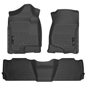Husky Liners 98251 Front & 2nd Seat Floor Liners for 07-14 Tahoe/Yukon/Escalade