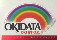 Aufkleber/Sticker: OKIDATA - Oki Ist O.K. (280416102)
