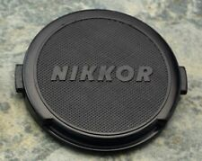 Genuine Nikon NIKKOR 52mm Clip-on Front Lens Cap Japan Snap-on JUM NK (#1552)