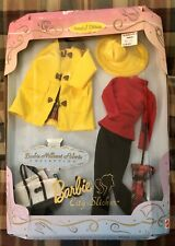 BARBIE MILLICENT ROBERTS CITY SLICKER 1997 Rain Coat Outfit Limited Edition NRFB