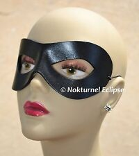 Black Superhero Leather Mask Masquerade Incredibles Cosplay Halloween UNISEX