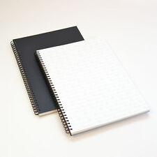 GraphicPro A2 PVC Black Portfolio Protective Sleeves Acid-Free140 Micron 20 Pack