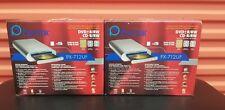 PLEXTOR PX-712UF USB 2.0 / IEEE1394 FIREWARE EXTERNAL WRITER  DVD+/-RW CD-RW DL