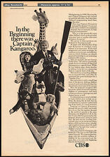 CAPTAIN KANGAROO__Original 1970 Trade print AD / poster__TV promo__BOB KEESHAN