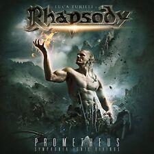 Luca Turilli's Rhapsody – Prometheus: Symphonia Ignis Divinus (2015)  CD  NEW