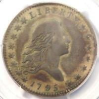 1795 Flowing Hair Bust Half Dollar 50C O-102 - PCGS VF Detail - Rare Coin!