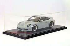 1/18 Spark Porsche 911 (997) Sport Classic (grey) no exterior box, only foam box