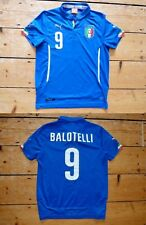 Edad 12-14 Italia Camiseta de Fútbol Maillot Maglla Balotelli 9