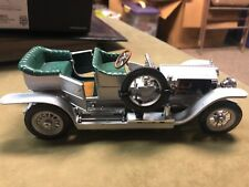 1907 Rolls-Royce The Silver Ghost toy car- 1986 Franklin Mint Precision Models