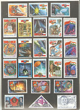USSR 1970-1980...Lot of  MNH  Stamps ** .... SPACE...КОСМОС ...n° 10