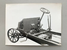 Antique Photo De Dion Bouton Chassis Motor French Auto Car Truck Steering Wheel