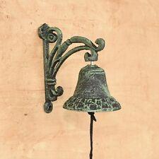 Cast Iron Wall Mount  Vine Bell Indoor or Outdoor