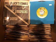 """Nice Lot of 20 45's Records 1950s-80s 7"""" Vinyl"""