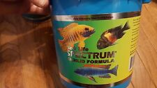 New Life Spectrum fish food - 15oz bulk packaging! Great for African Cichlids