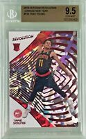 Trae Young 2018-19 Panini Revolution Chinese New Year Rookie BGS 9.5 Gem Mint