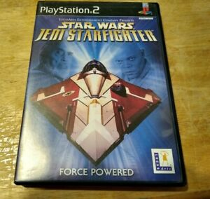 Star Wars: Jedi Starfighter (Sony PlayStation 2, 2002) CIB