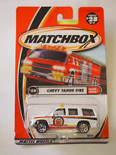 MATCHBOX #28 CHEVY TAHOE FIRE FLAME EATERS SERIES H2O FORCE LOGO