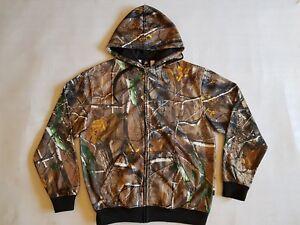 BNWT Adult Unisex Men Ladies Fleece Hunting Camo Hoodie Jacket, Jumper, Top
