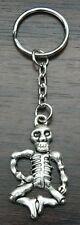 Skeleton Keyring Gothic Emo Biker Key Ring Gift