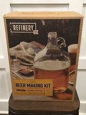 NIB Refinery Beer Making Brewing Kit 12 piece HOME BREW New