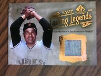 2005 SP Legendary Cuts Lasting Legends Juan Marichal San Francisco Giants Jersey