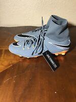 Nike Hypervenom Phantom III Academy DF FG Soccer Cleats AH7268-081 Sz Mens 9