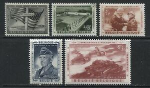 Belgium General Patton Semi-Postal set mint o.g. hinged