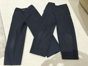 2 Pairs of Boys TU School Trousers Age 6 Years