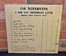 JOE BONAMASSA - A New Day Yesterday LIVE , Import 2LP 180 Gram BLACK VINYL New!