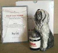ROYAL DOULTON DOG DULUX OLD ENGLISH SHEPHERD MODEL No. RDA 144  PERFECT BOXED