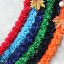 1 Yards Chiffon Ribbons Diy Headwear Clothing Decoration Flowers Head Chic Wavy