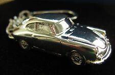 PORSCHE 356 -  Schlüsselanhänger - Kein Pin  - 3 D - Sterling versilbert