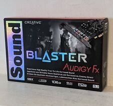 More details for creative blaster audigy fx 5.1 sound card