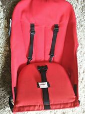 Bugaboo Cameleon Seat Cover Fabric with Straps - Red - Used