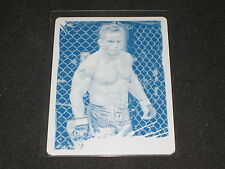 SEAN SHERK 2011 TOPPS CYAN PRINTING PLATE CERTIFIED UFC AUTHENTIC CARD #1/1 RARE