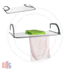 3M FOLDING RADIATOR AIRER CLOTHES DRYER INDOOR WASHING LAUNDRY HORSE RACK UKED