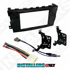 95-7617GHG Double Din Radio Install Dash Kit & Wires for Altima Car Stereo Mount