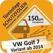 VW GOLF 7 VARIANT Film de protection la peinture portière SEUIL PORTE