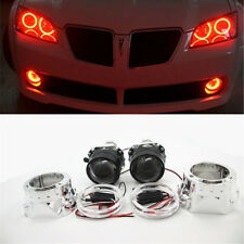 "2.5"" Halo Angel Eyes HID Bi-xenon Projector Lens LHD/RHD headlight and Inverter"