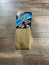 COYOTE BROWN Covert Threads ICE Socks - Size 9-12 - Moderate To Extreme Climates