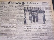 1950 APRIL 25 NEW YORK TIMES - NO KNOWN RED HAS GOVERNMENT JOB - NT 4747