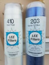 """Rolls of Lee Gel, 48"""" x 24', Rolls of Ctb, Cts, Cto & rolls of white diffusion"""