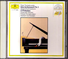 Sviatoslav RICHTER: TCHAIKOVSKY Piano Concerto 1 RACHMANINOV Preludes KARAJAN CD
