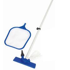 100 in (approx. 254.00 cm) Kit de mantenimiento de Limpieza de Piscina Hand Held Vacuum Skimmer