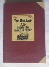 Dr. Oetker  Altdeutsche Kochrezepte